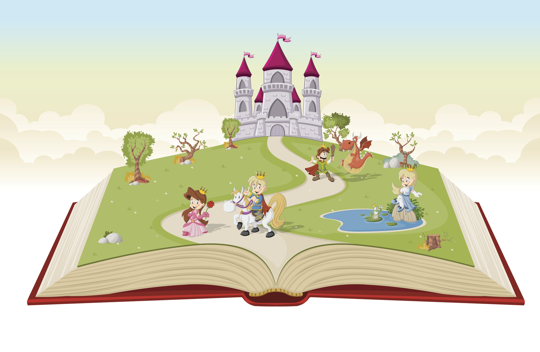 Image result for traditional fairy tale characters clipart