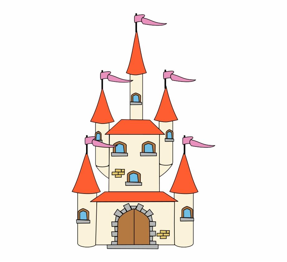 Free to use clip. Fairytale clipart pretty castle
