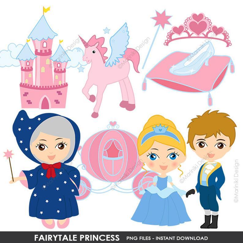 Clip art cute for. Fairytale clipart princess birthday