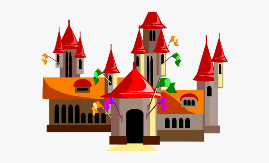 Fairy tale free cliparts. Fairytale clipart red castle