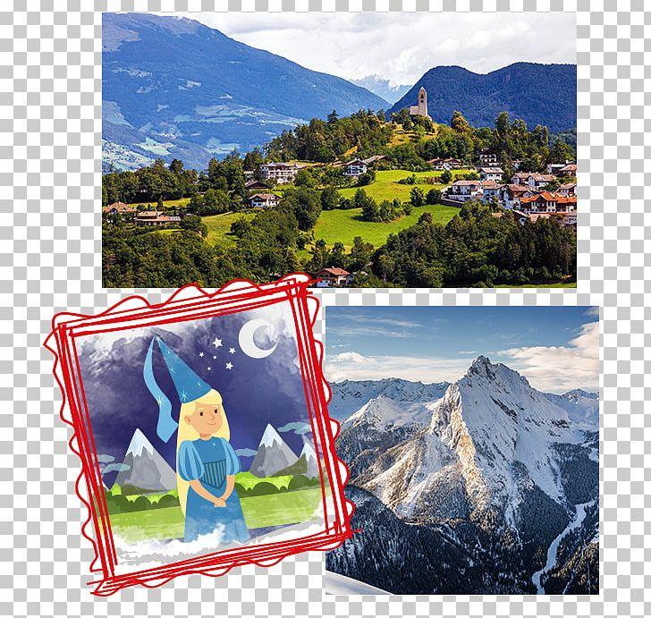 Dolomites fairy tale loacker. Fairytale clipart scenery