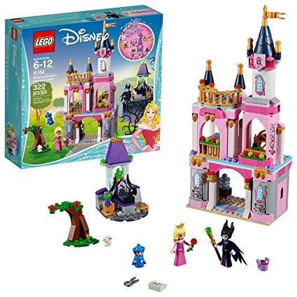Lego disney princess sleeping. Fairytale clipart toy castle