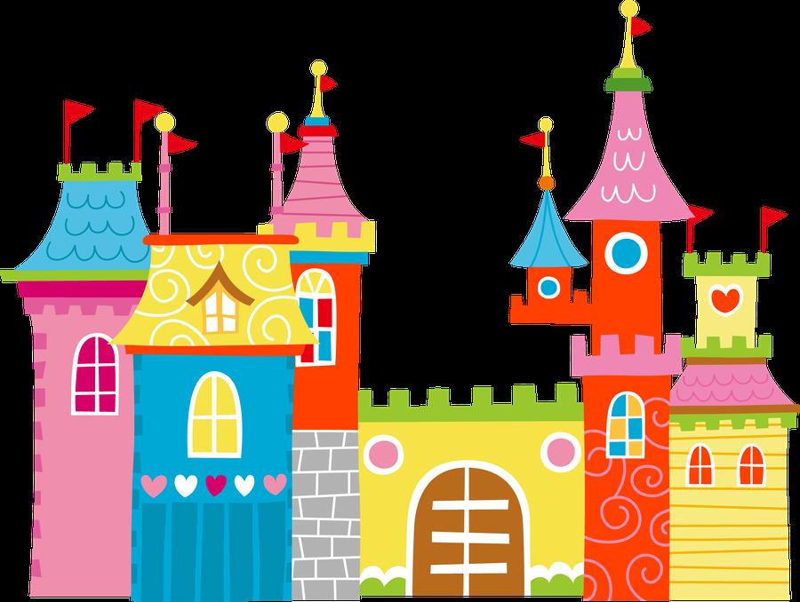 Fairytale clipart toy castle. Princesas e fadas minus