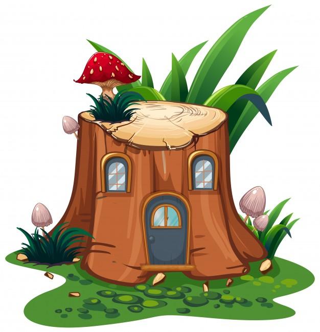 Fairytale clipart tree. Fairy tale book free