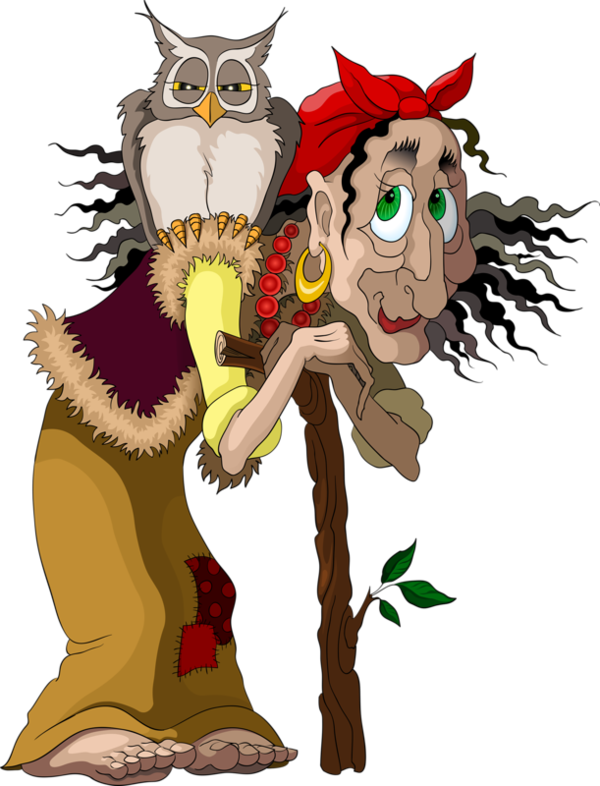 Fairytale clipart witch. Tubes personnages tole painting