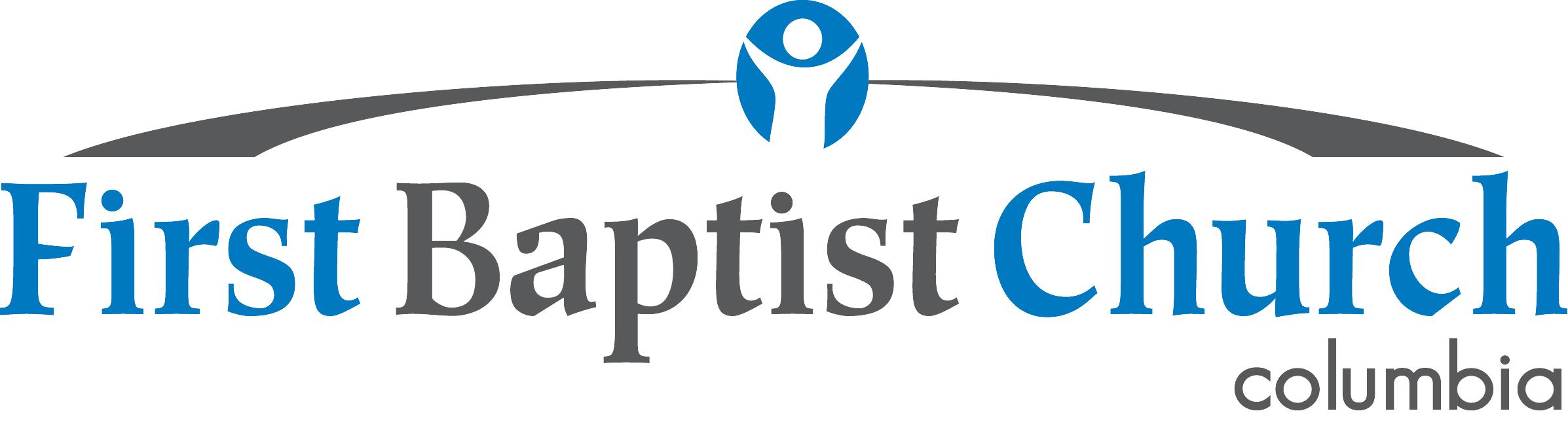 First columbia logo. Faith clipart baptist church