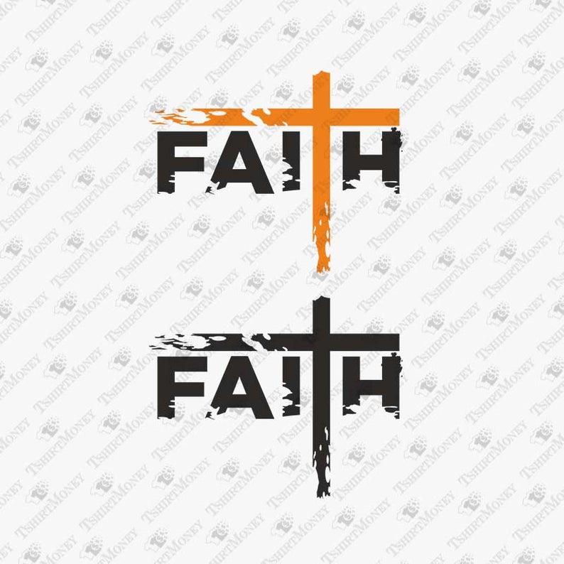 Faith clipart baptist church. Cross svg file christian