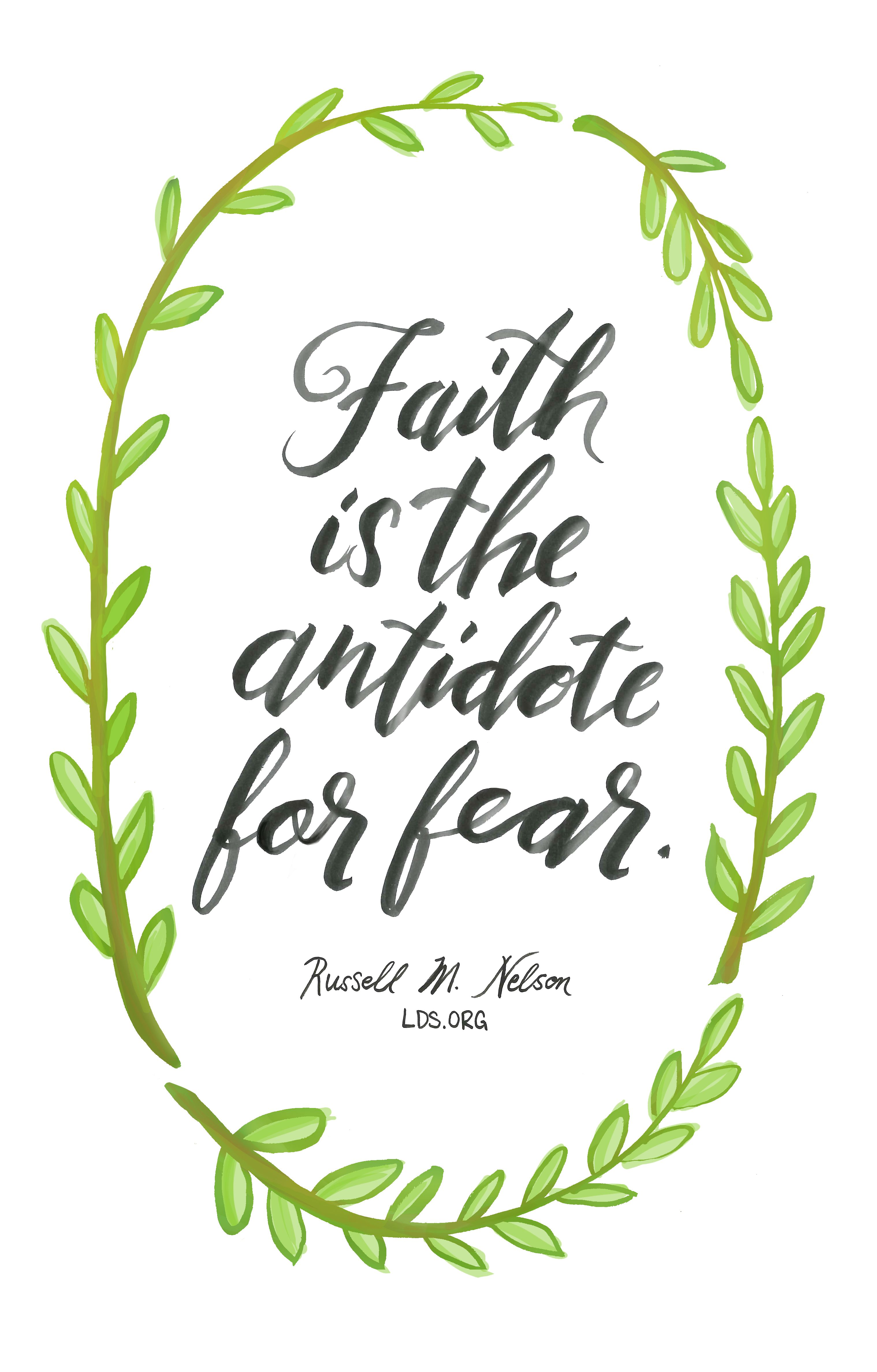 Is the antidote for. Faith clipart bible quotes