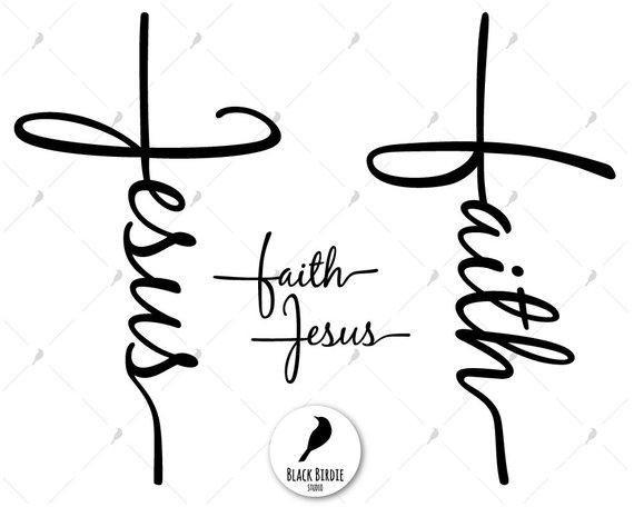 Faith clipart black and white. Portal