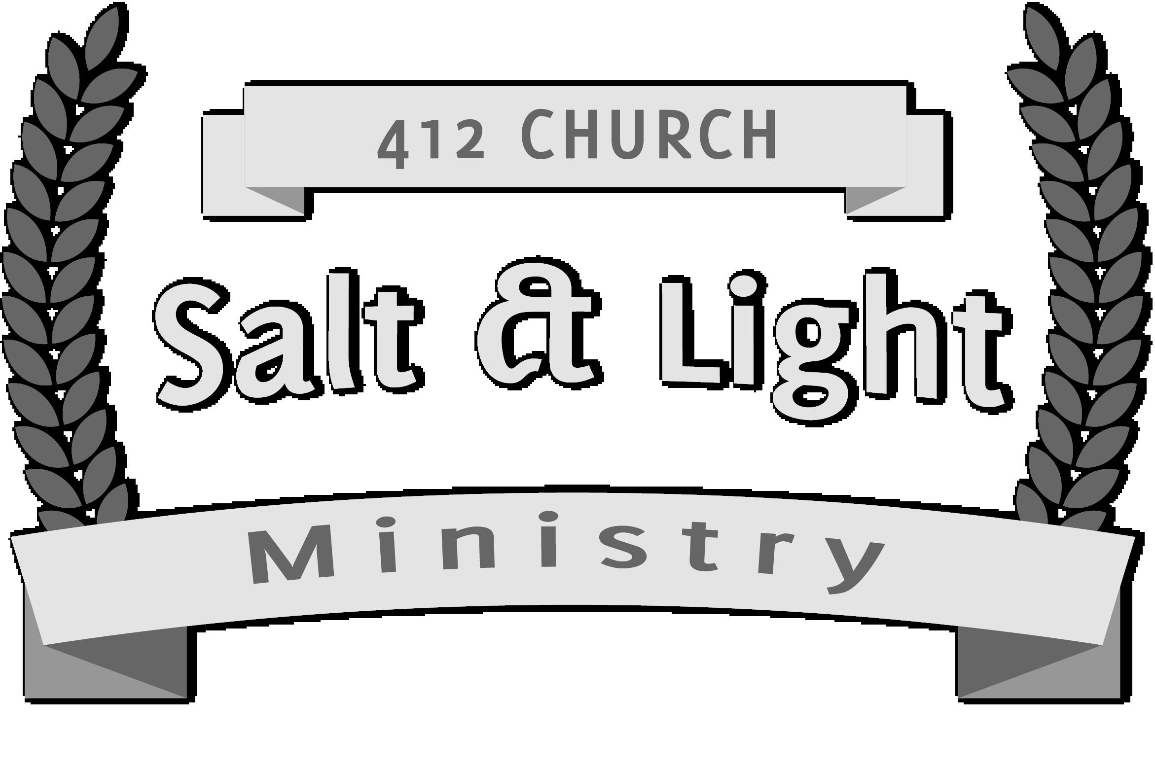 Lamp clipart bible. Salt light ministry church