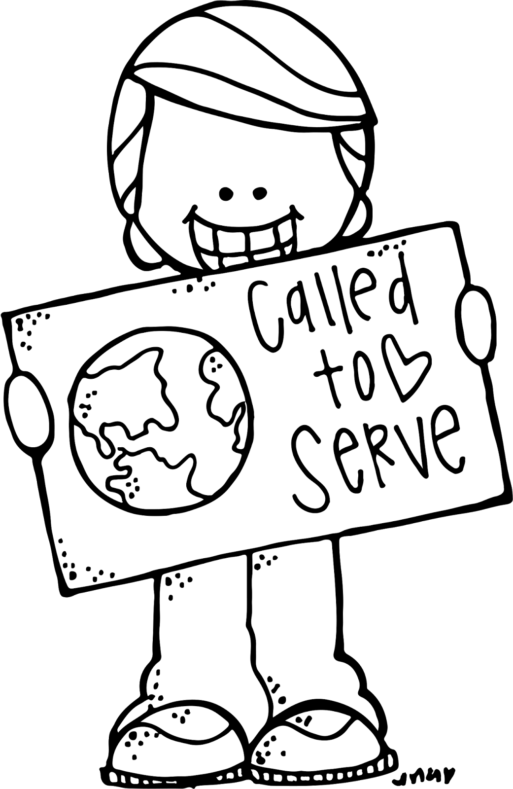 Melonheadz lds illustrating general. Missions clipart called to serve