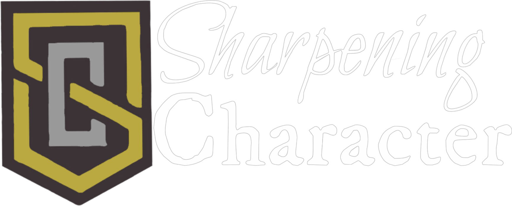 Faith clipart calligraphy. The sharpening character podcast