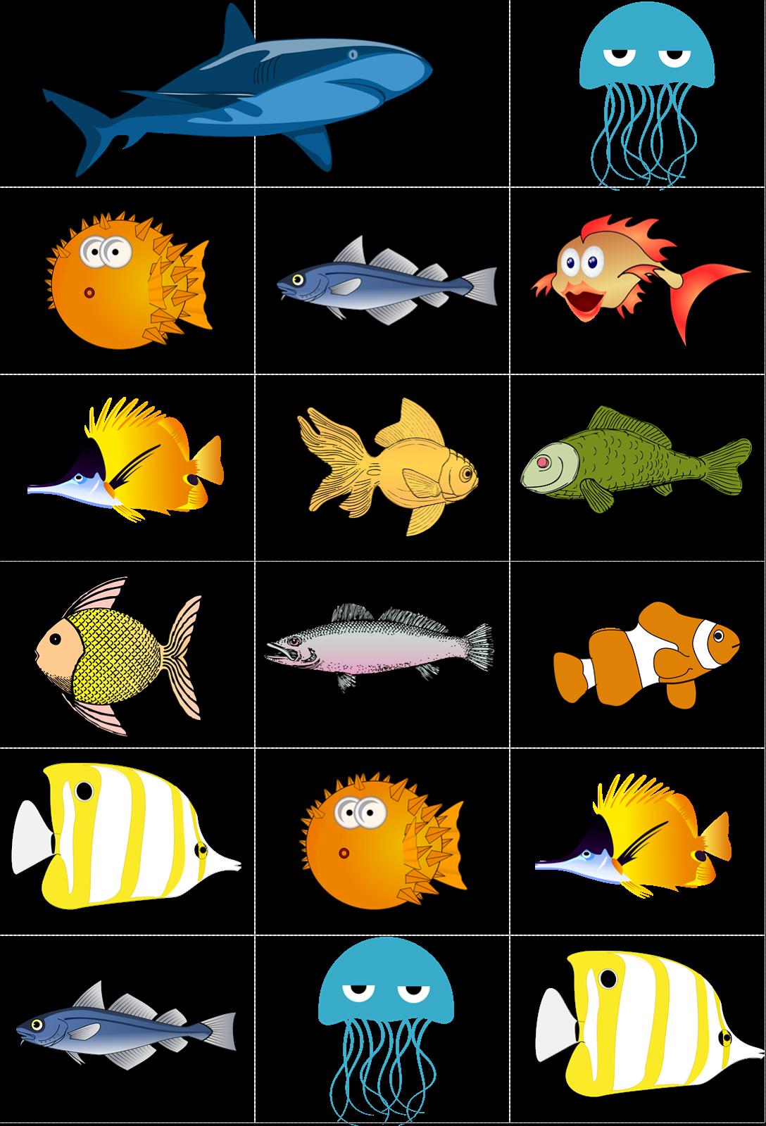 Go . Family clipart fish