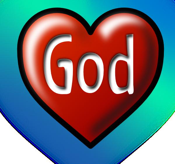 God s love panda. Faith clipart godly