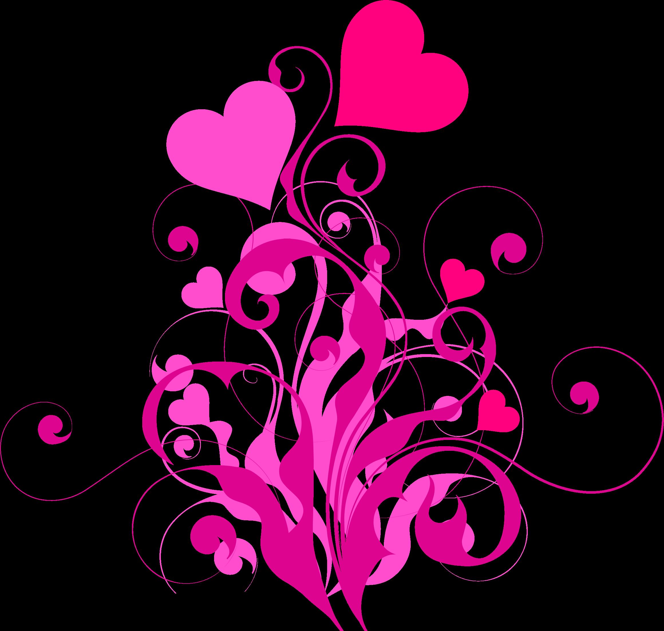 Hope clipart flower. Heart flourish big image
