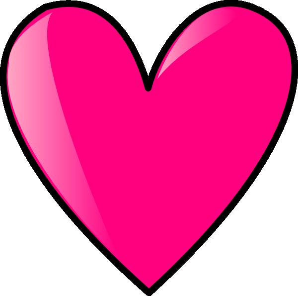 Hearts clipart bird. Hot pink heart panda