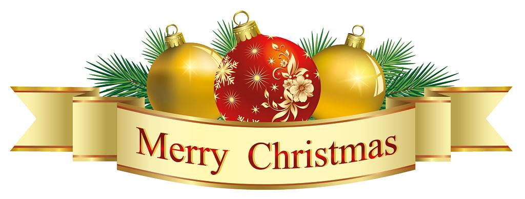 Merry christmas clip art. Foods clipart banner