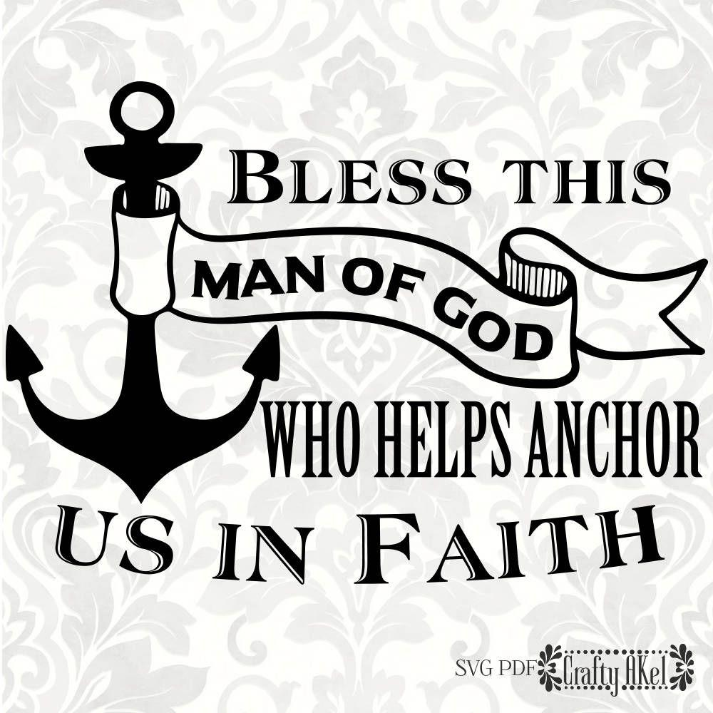 Of svg anchor bless. Faith clipart man god