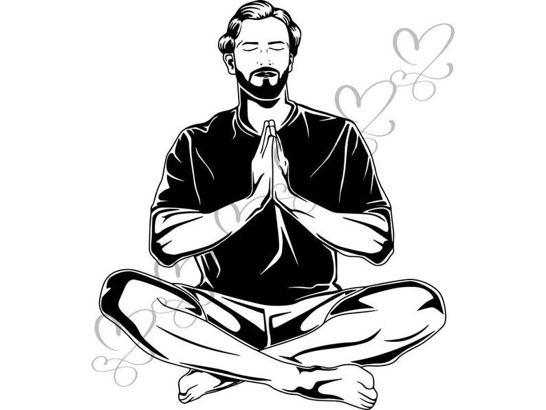 Praying quotes spiritual life. Faith clipart man god