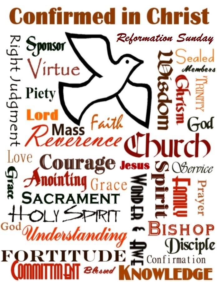 October clip art sof. Faith clipart piety
