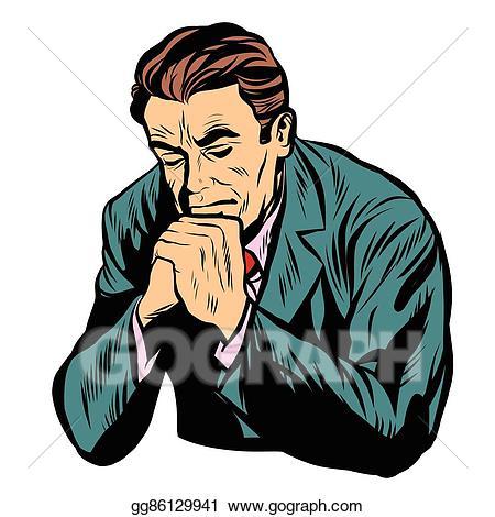 Clip art vector man. Faith clipart prayer background