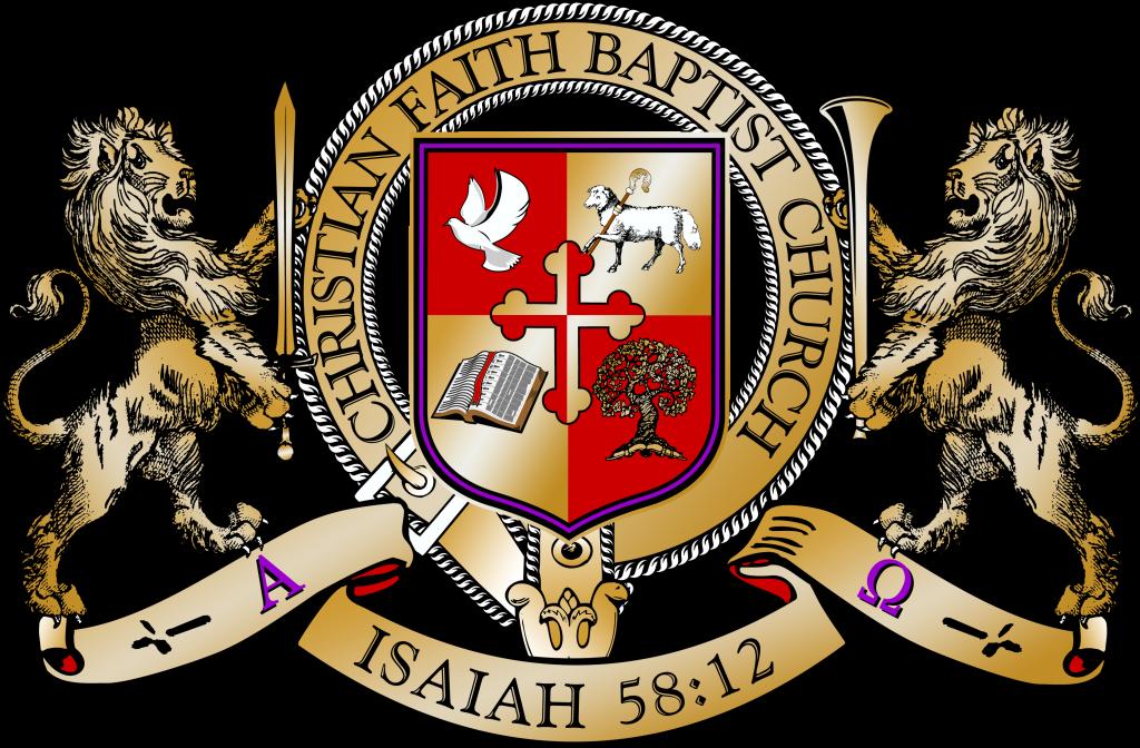 Faith clipart shield faith. Our insignia christian baptist