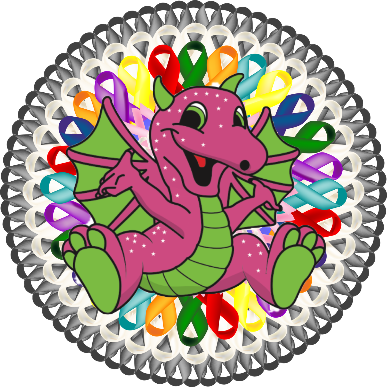 Letters jf party dragon. Faith clipart thank you