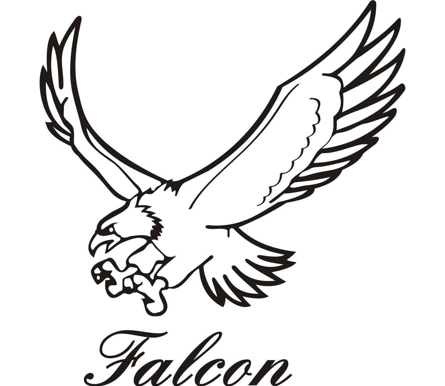 Birds clipart falcons. Best falcon clip art