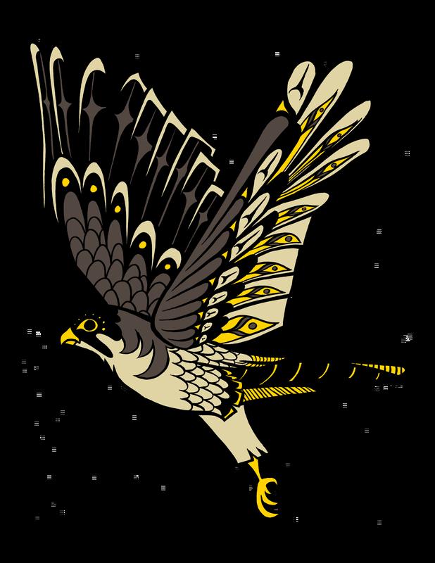 Falcon clipart claw. The tahnese zodiac marachi