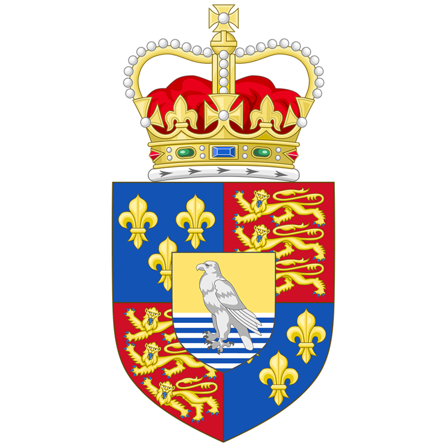 Of arms the british. Falcon clipart coat arm