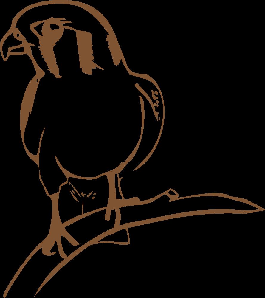 Onlinelabels clip art. Falcon clipart cool