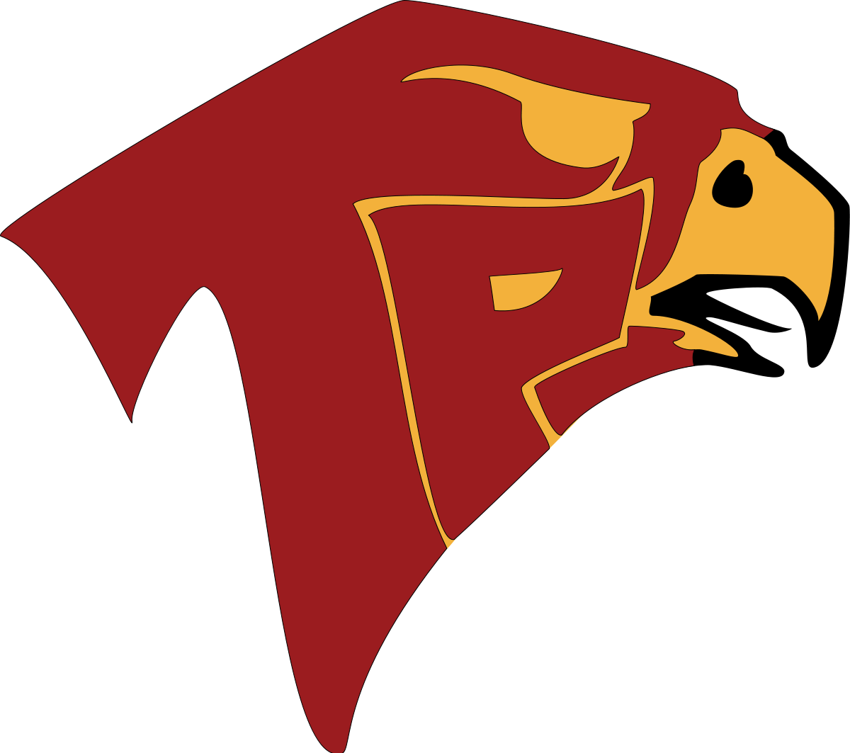 Falcon clipart falcon football. Torrey pines high school