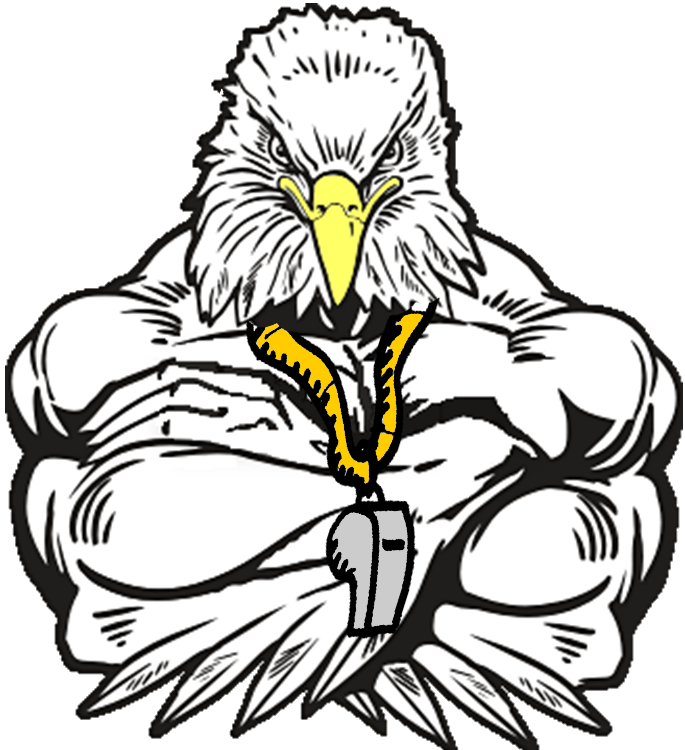 Falcon clipart falcon football. Tri city falcons all