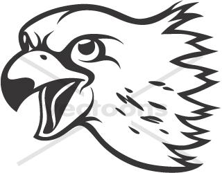 clip art clipartlook. Falcon clipart falcon head