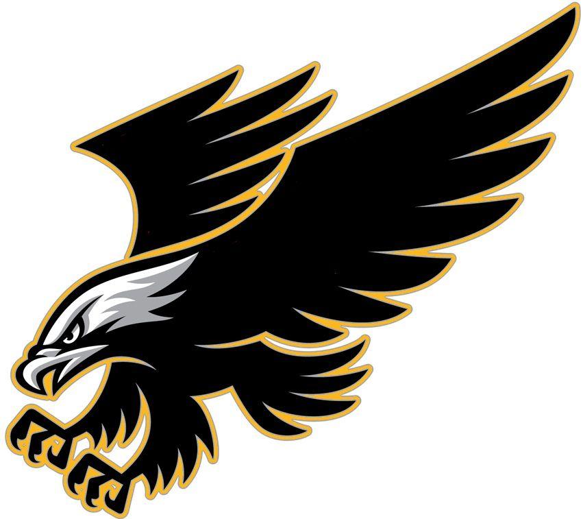 Falcon clipart golden hawk. Eagles cricut sports logo
