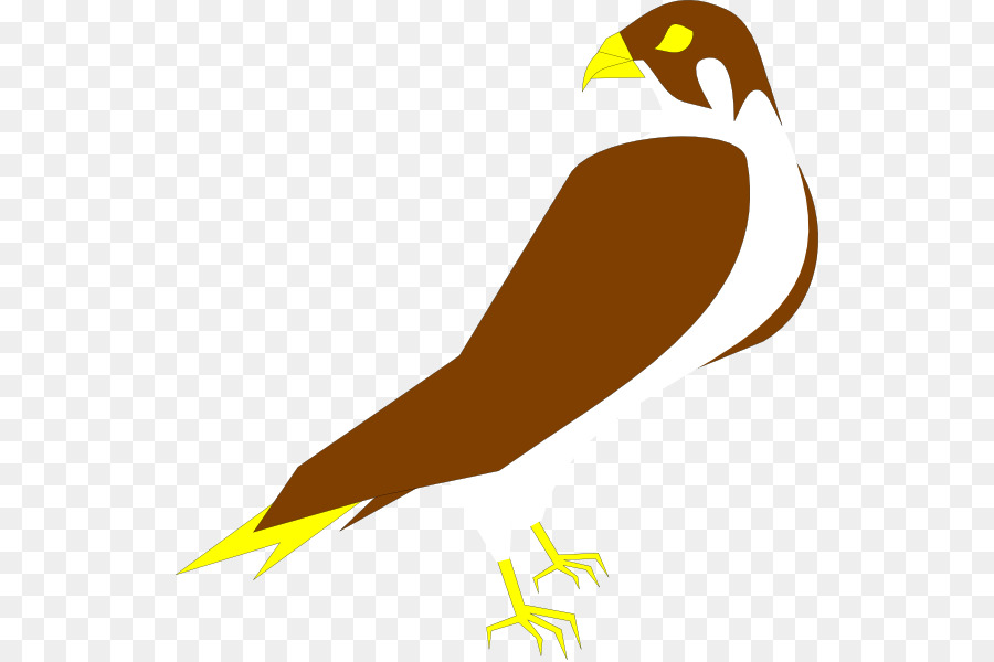 Falcon clipart illustration. Eagle logo bird yellow