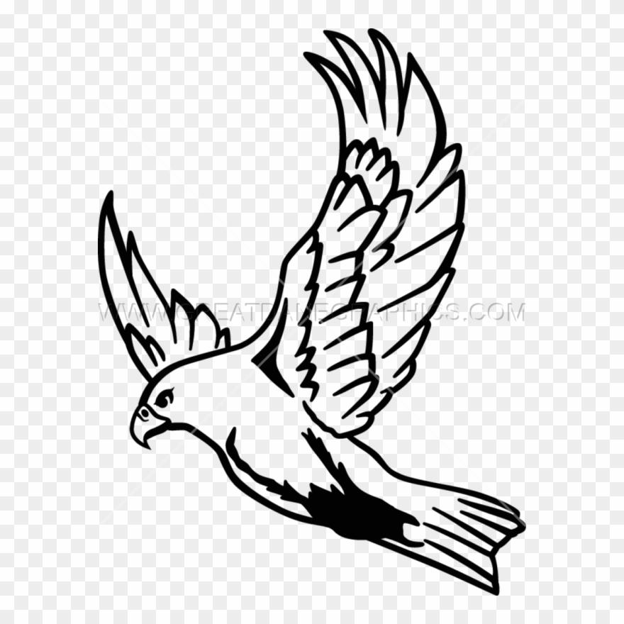 Falcon clipart in flight. Clip art freeuse download
