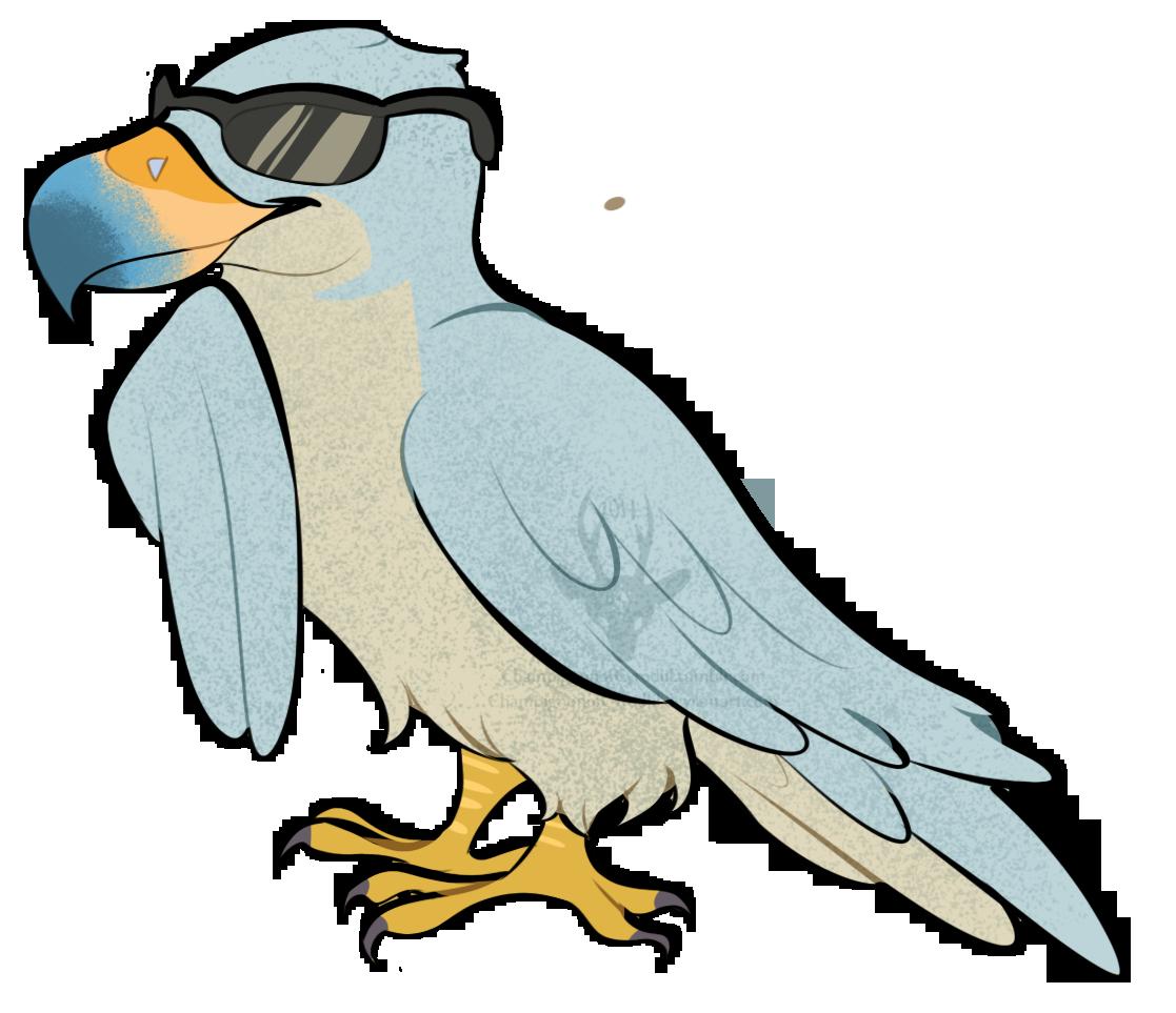 Champignon on twitter stuff. Falcon clipart large bird