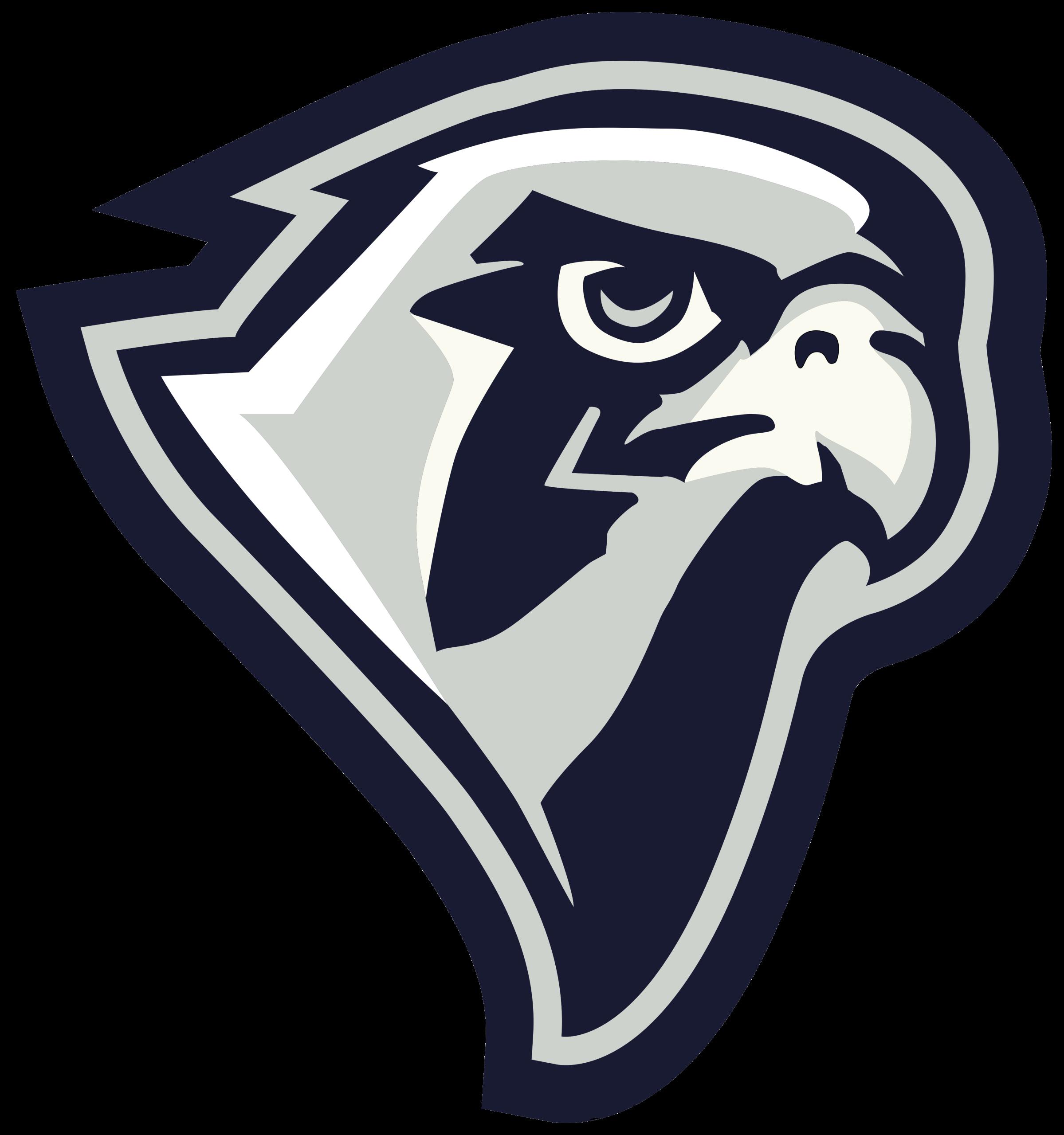 Lifegate head . Falcon clipart mascot