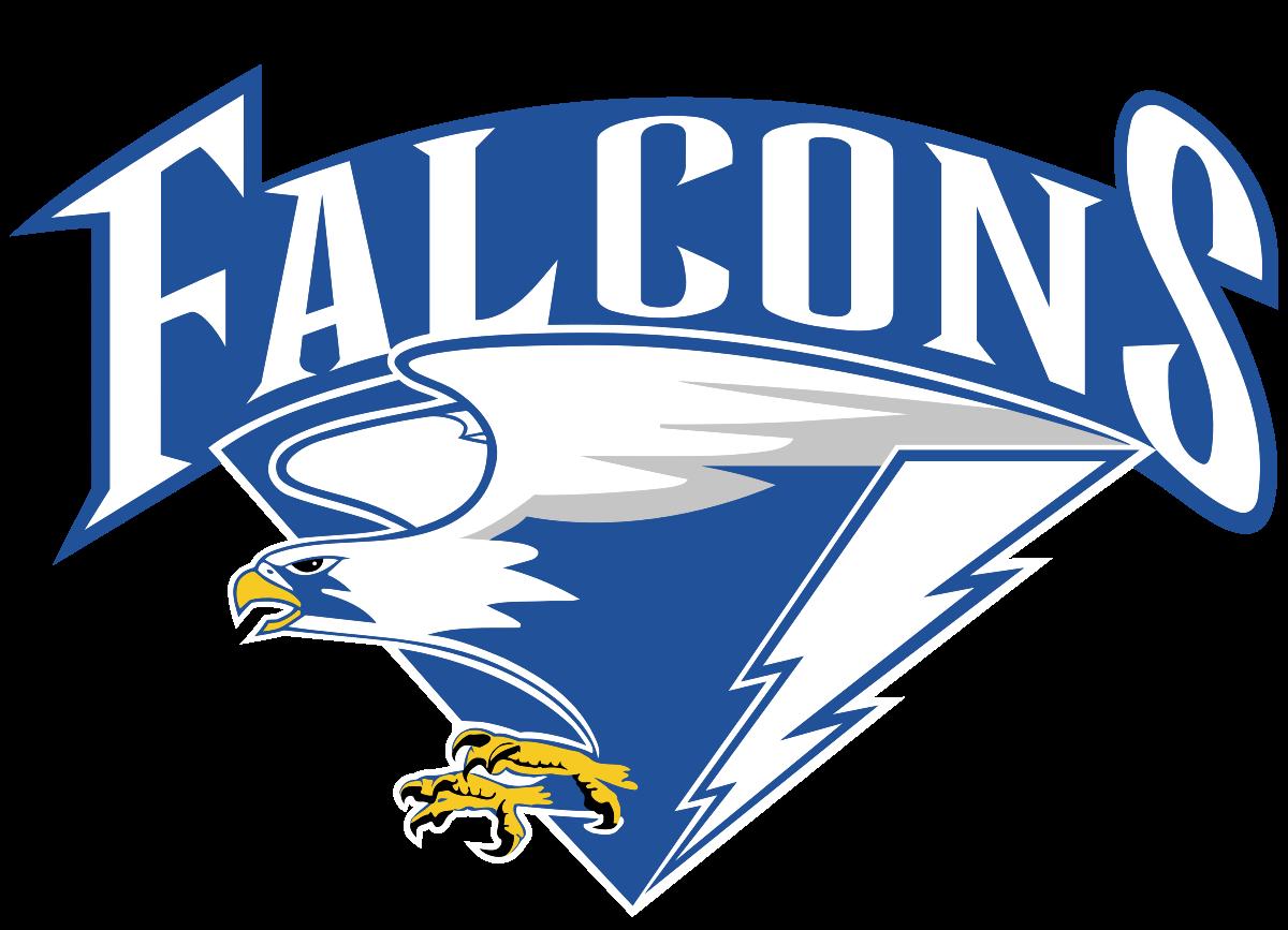 Falcon clipart mascot.  air force falcons