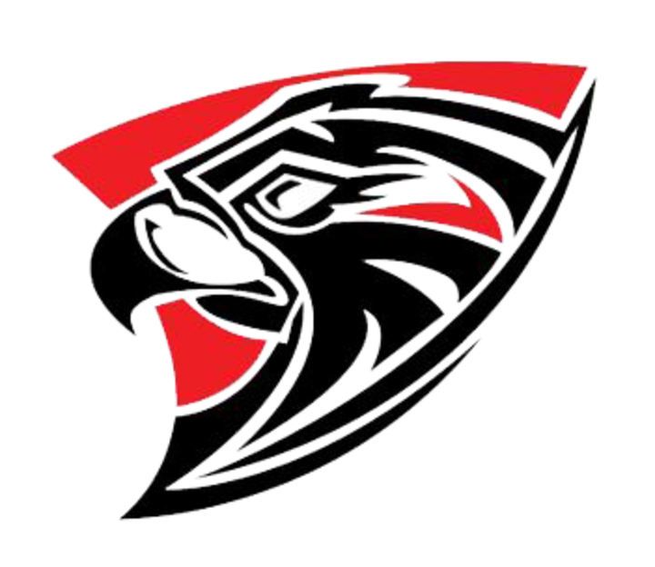 Falcon clipart mascot. The fairfield union falcons