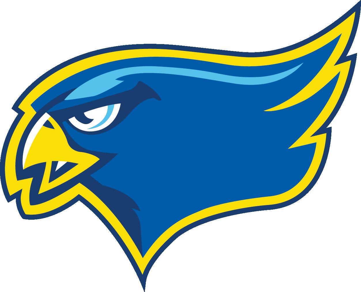 Rgs track and field. Falcon clipart mascot