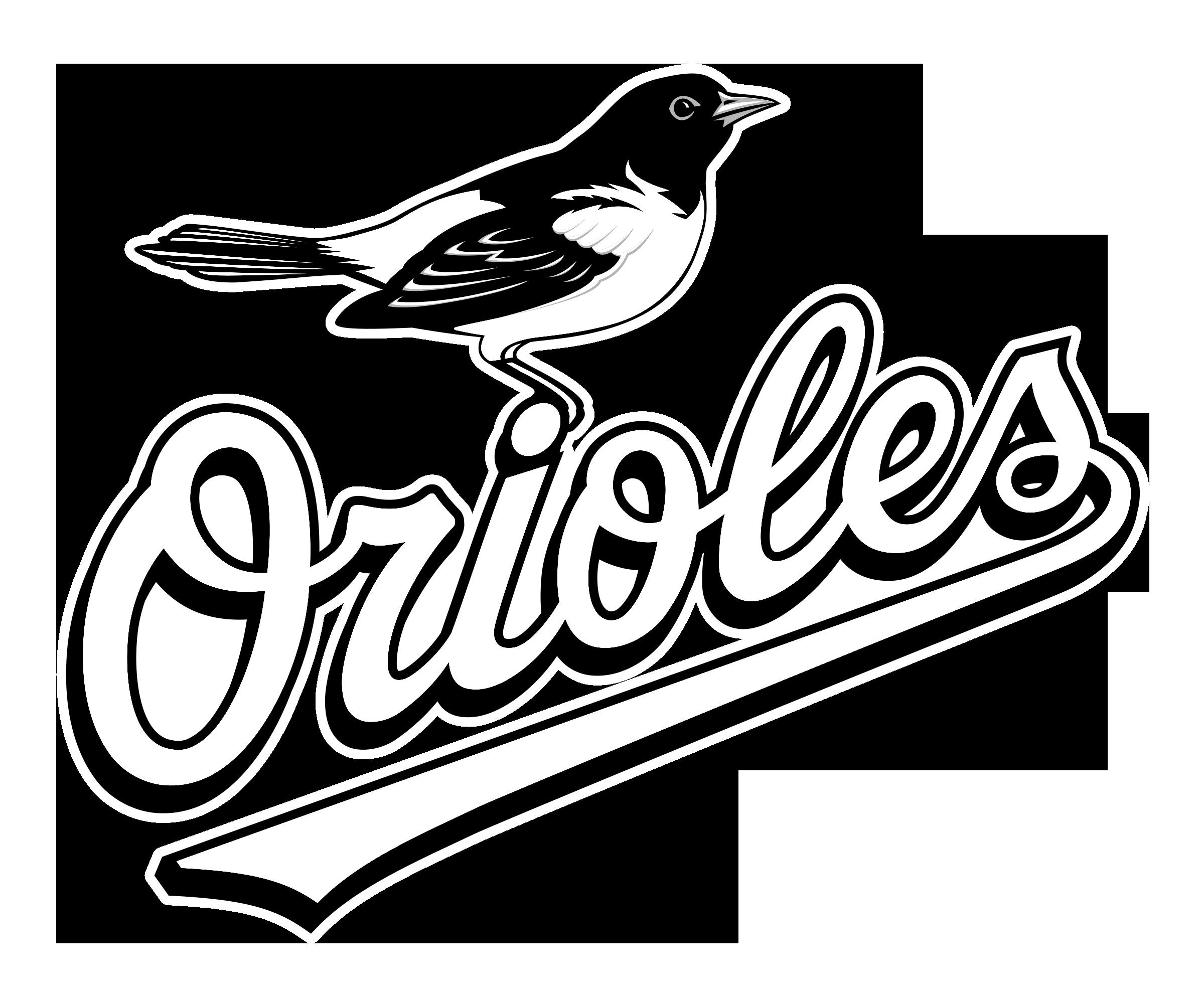 Baltimore orioles logo png. Falcon clipart oriole bird