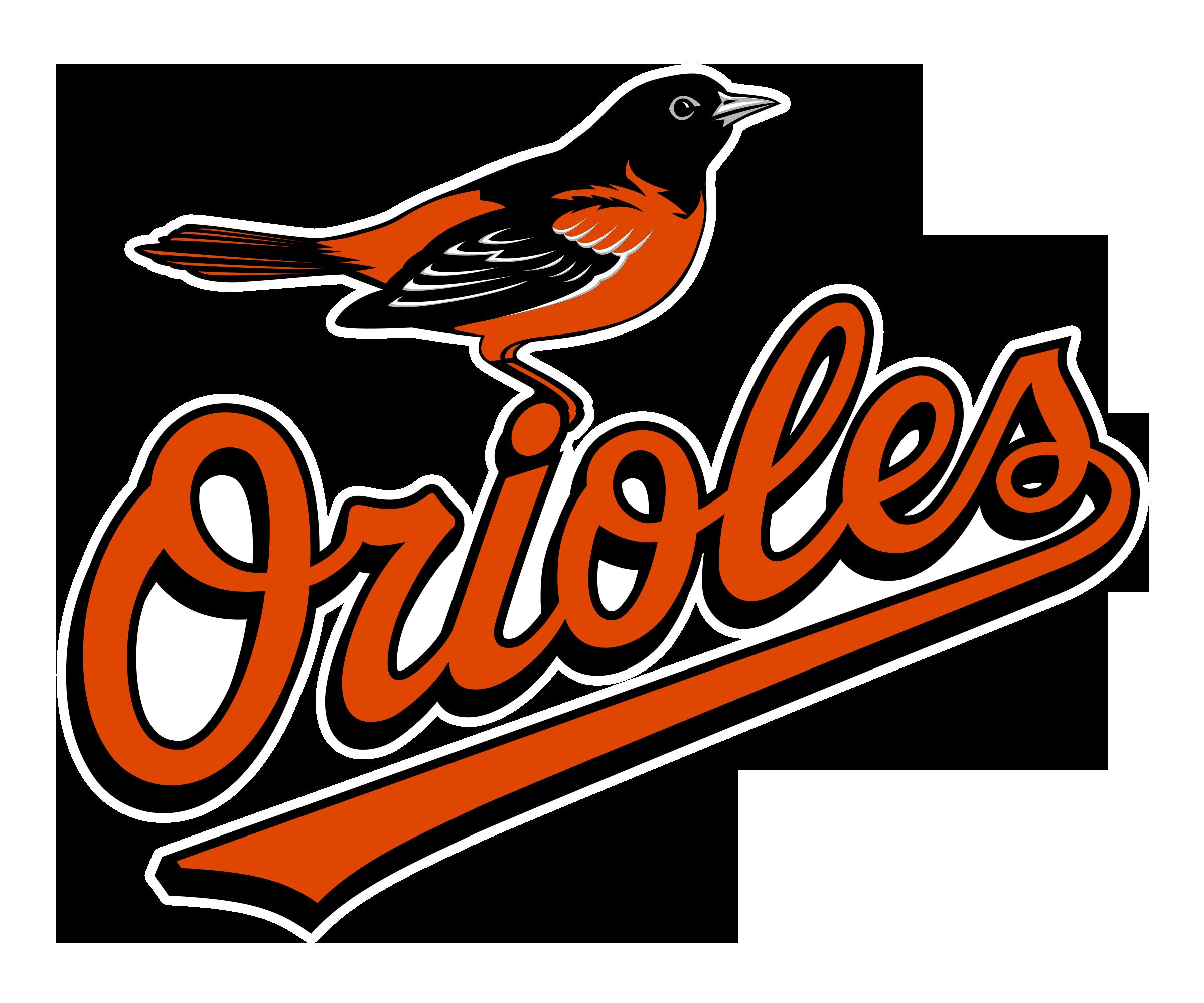 Falcon clipart oriole bird. Baltimore orioles logo png