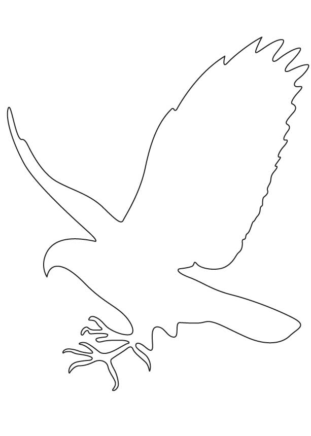 Falcon clipart outline. Images pictures becuo clip