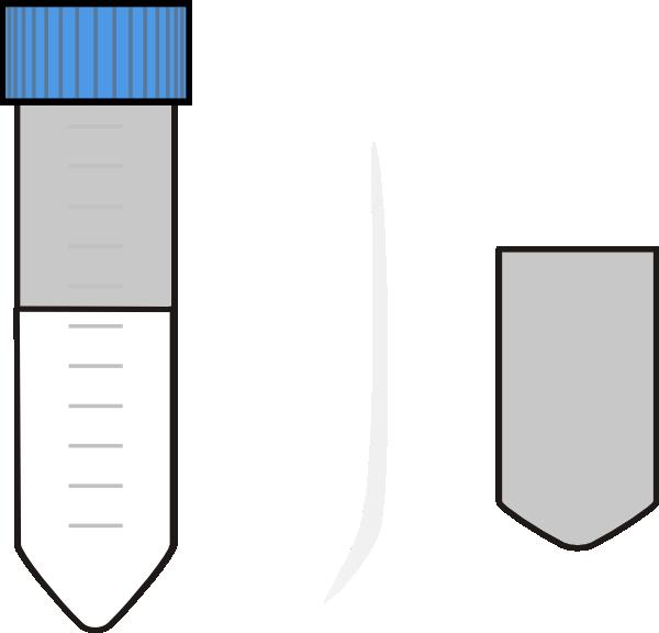 Centrifuge tube clip art. Falcon clipart small