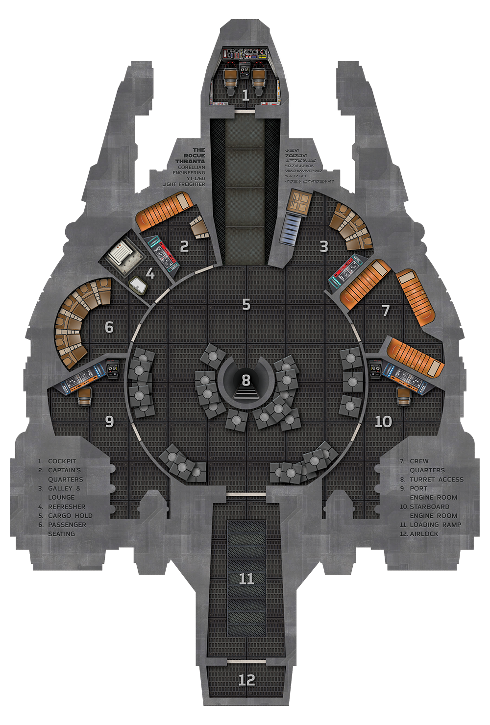 Rogue thranta for op. Spaceship clipart cockpit