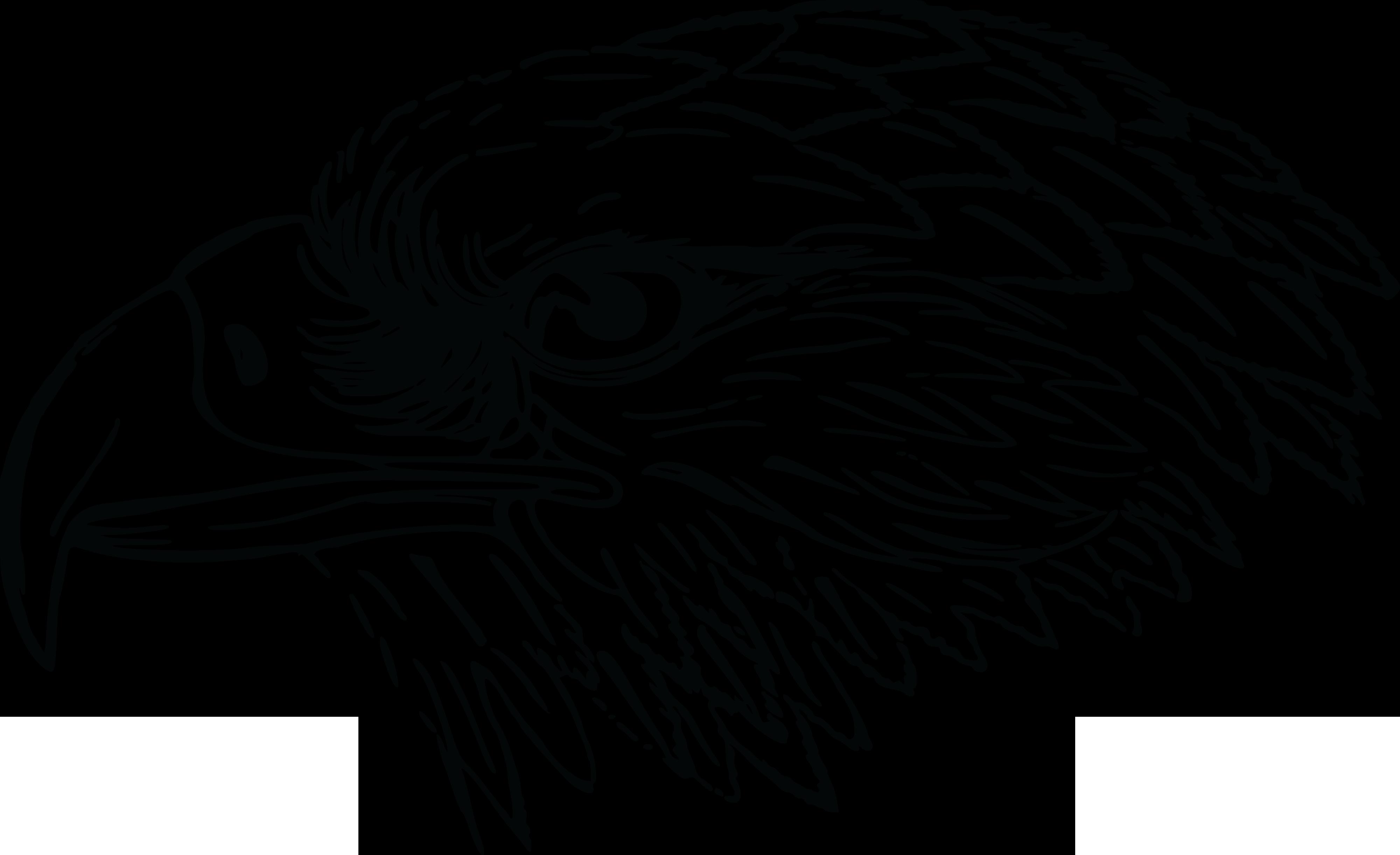 Falcon clipart tribal. Eagle clip art black