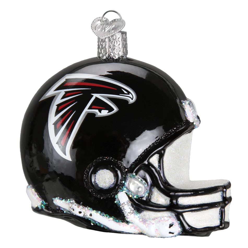 Falcons helmet png. Atlanta old world christmas