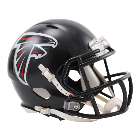 Atlanta mini speed . Falcons helmet png